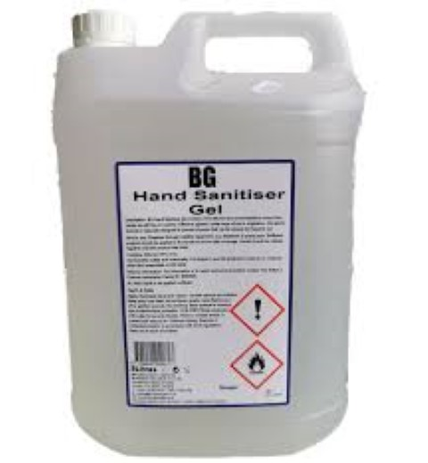 Hand sanitiser gel 70% Alcohol