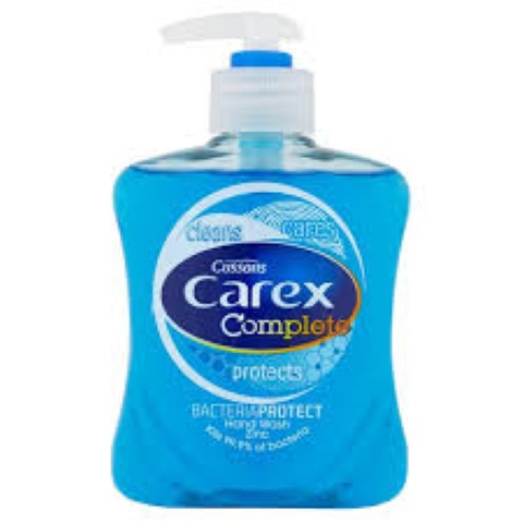 Carex Antibacterial Hand Soap April 2018